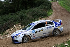 Francesco Lagana (ITA) Maurizio Messina (ITA),Mitsubishi Lancer Evo X, N4 VomerRacing, TROFEO RALLY TERRA